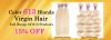 Color 613 Blonde Virgin Hair