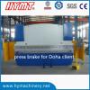 WC67Y-125x3200 Hydraulic carbon steel plate bending machine