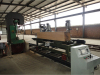 Band saw with log carriage