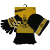 football scarf glove hat