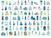 Hot-seller glass perfume bottle