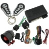 Remote engine start car alarm system with engine off LED light indicator