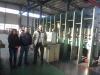 Iran Customer for Fram Vulcanizer Press Machine