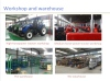 Tractor workshop and warehouse