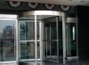 Full glass revolving door