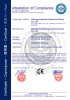 CE CERTIFICATION FOR ROLLING MACHINE