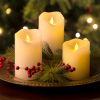 Ivory Flameless LED Candle for Home Decoration and Gift