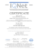 ISO 9001:2008 CERTIFICATE
