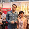we and client at the Canton Fair