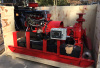 Skid Mounted Diesel Engine Fire Pump