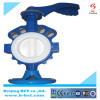 Coating PTFE butterfly valve with handle