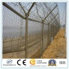 High Security 358 Fence Top with Barbed Wire for Military