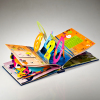 3D POP up BOOK for 3 YEARS up CHIDLREN