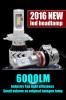 2016 canton fair new 6000lm car led headlight