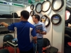 CUSTOMER VISIT CANTON FAIR BOOTH