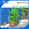 WT2-10 new design clay interlocking brick machine best price