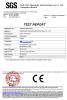 CE Certificatie of OPA61