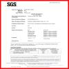 SGS Inspction Certificates