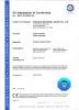 CE Certificater CG260, CG430, CG520