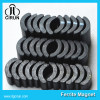 Arc shape ferrite magnet for motor