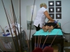 client use the cavitation to do weight loss