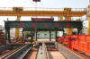 600 tons test stand crane