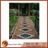 Garden stone mosaic