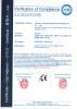 Hand Sprayer CE Certificate