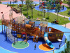 outdoor wooden playground equipment