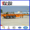 40ft 3 axles skeleton trailer container trailer trailer chasis