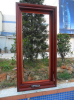 Customized Elegant design solid wood window