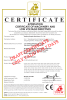 Attestation Certificate of Machinery and Low Voltage Directives