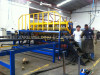 Install reinforcing mesh welding machine in Colombia