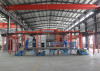 Automatic electroplating production line
