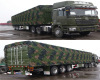 CIMC HUAJUN HIGH QUALITY VAN TRAILER WON THE ORDER FROM CHINESE MILITARY