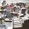 Paper cutting room