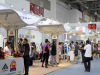 Customers get together in Jiamei Booth on the China Sportshow