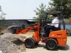 Europe Customer Tested Our HQ908 Mini Loader !