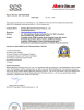 Peristaltic Pump SGS Certificate