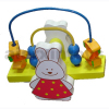 Wooden Toy - Rabbit Teeterboard Set