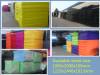 Colorful foam sheets