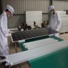 Assembling The Frame of Solar Panel