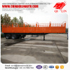 3 axles BPW axle side wall semi trailer