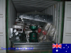 Two 40HQ & One 20GP container machines exported to Australia in October 2015