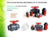Plastic PVC True Union Ball Valve DIN ANSI JIS Standard Pn10 & Pn16