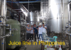 Our engineers installed machines in customer's Juice Plant in Phillppines