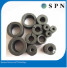 Ferrite anisotropic multipole magnet rings