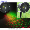 outdoor garden christmas star laser light show