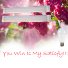 YOU WIN IS MY SATISFY