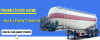 40m3 bulk cement tank semi trailer for promotional